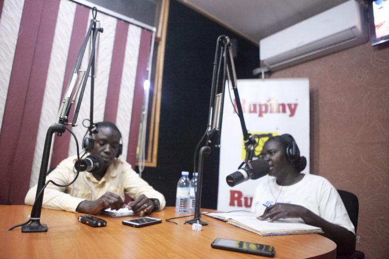 The radio talk shows